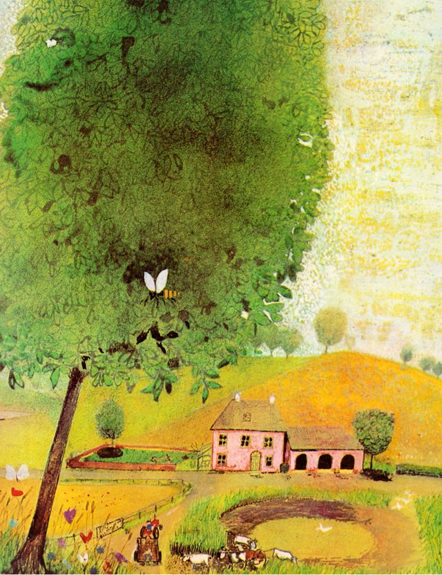 my vintage book collection (in blog form).: Seasons - illustrated by John Burningham----------Spring