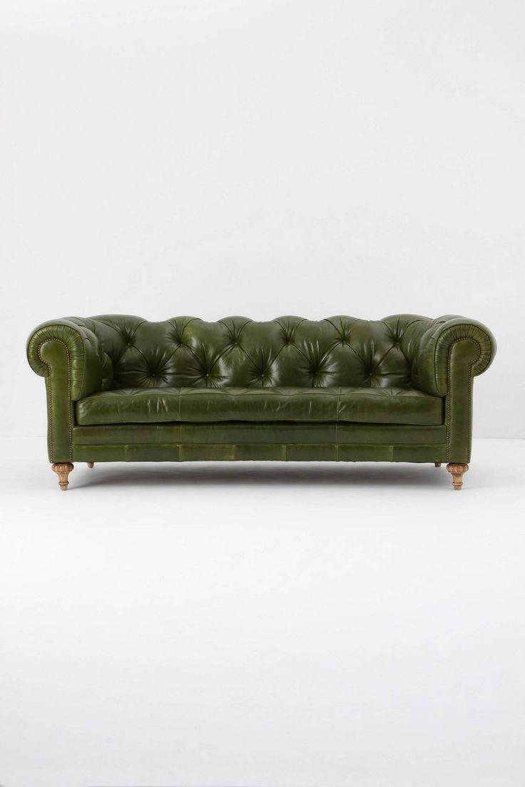 Green Chesterfield Sofa