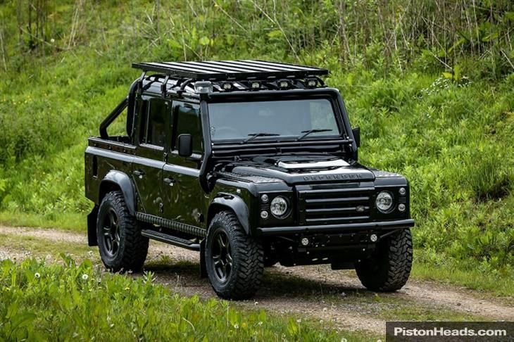"Classic ""RICH BRIT"" EDITION – LAND ROVER DEFENDER 110 X... for sale - Classic & Sports Car (Ref Staffordshire)"