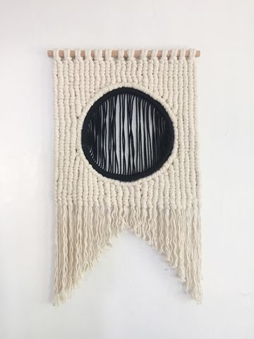 Current Work - Sally England Custom Macrame and Fiber Art