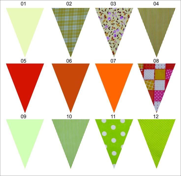 41 best images about banderines tela on pinterest - Guirnaldas de tela ...