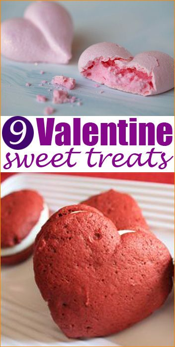Valentine's Desserts.  Fun ways to tell someone you care about them on Valentine's Day.