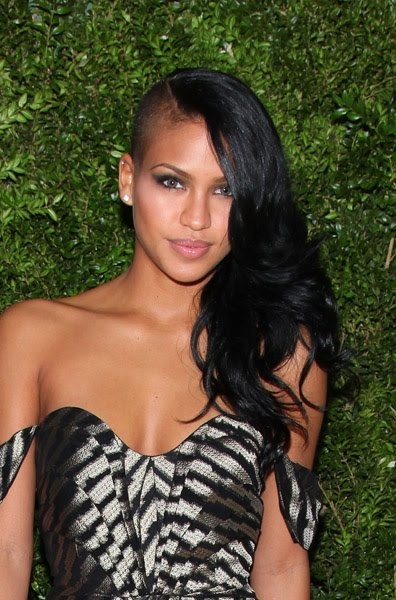 #Cassie with the half shaved look. What do you think of it?