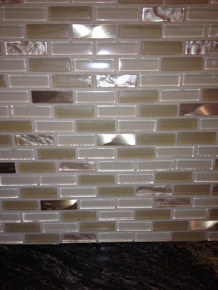 1000 images about recycled glass grout on pinterest for Dimensional tile backsplash