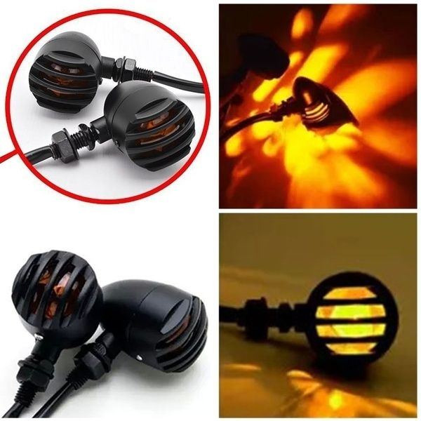 Motorcycle Front Rear Turn Signals Indicators Light For Harley 1pcs Ajm Buy Motorcycle Motorcycle Motorcycle Accessories