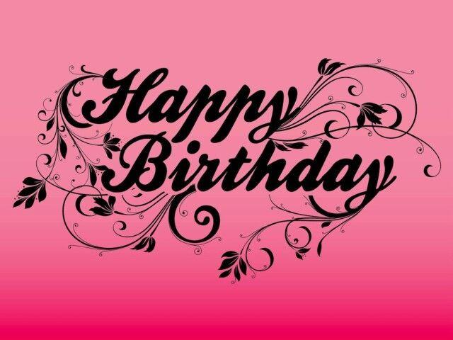 ... Happy Birthday ...