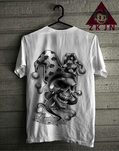 Zack Jordan T-shirt. Skull quin