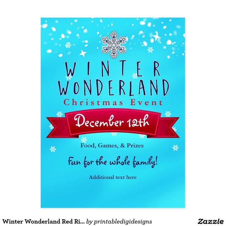 97 best winter wonderland party invitations images on Pinterest