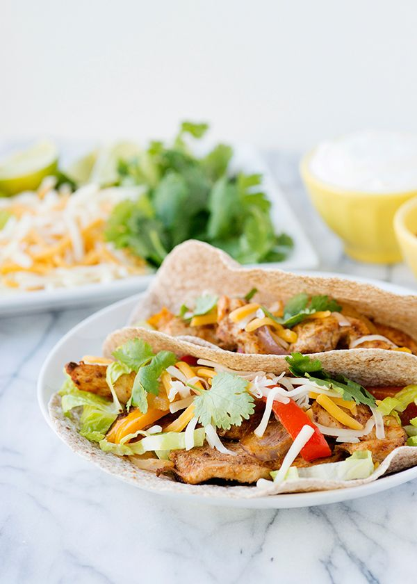 Oven Baked Fajitas - delicious and super easy clean up!