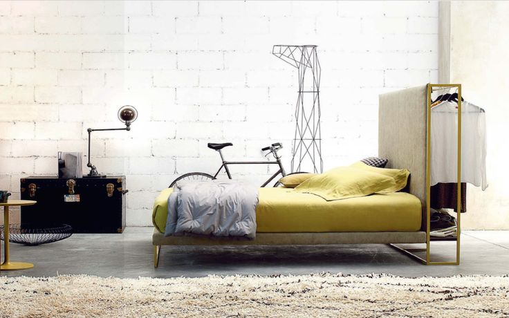 Das Twils Bett aus Italien bei Daunenspiel Wien: vielseitige Designs, unendlich viele Möglichkeiten.