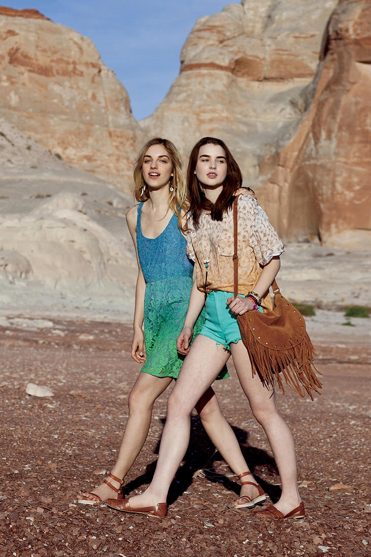 my ombre dress <3 <3 <3  Summer 2012 #urbanoutfitters