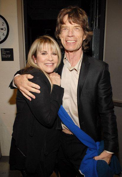 w/ Mick Jagger