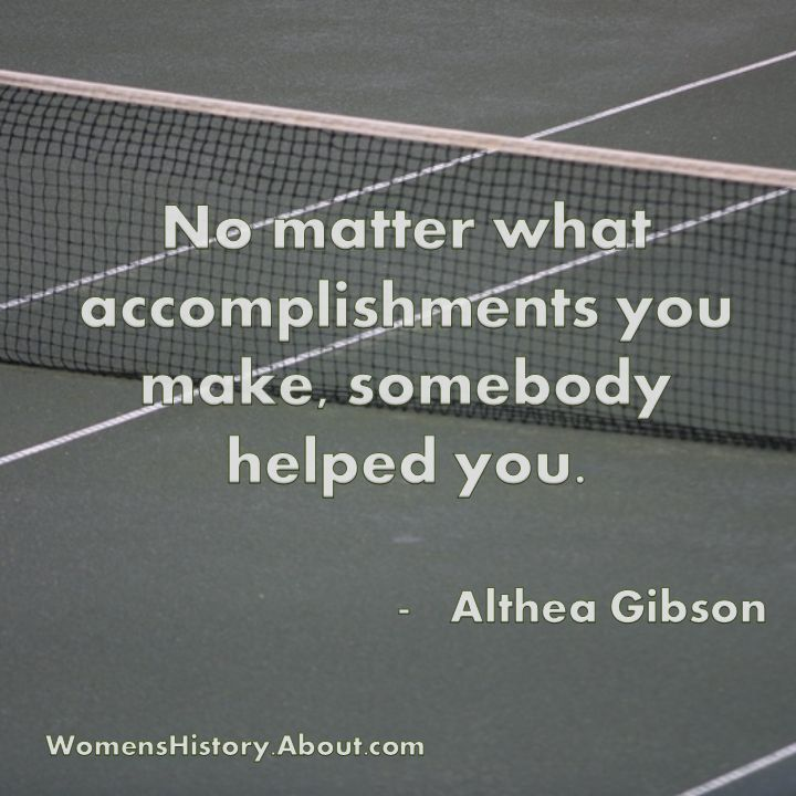 No Matter What Accomplishments You Make Somebody Helped You