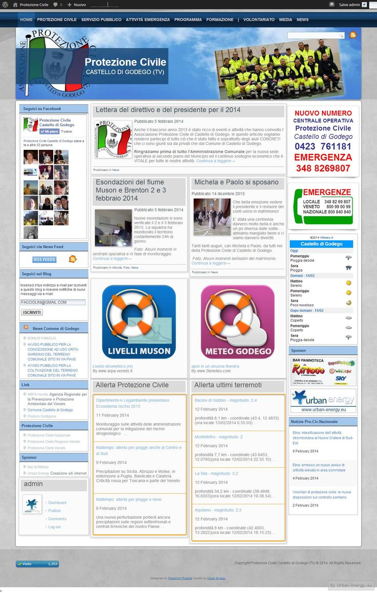 Protezione civile Castello di Godego (TV) sito web: http://www.protezionecivilecastellodigodego.it/