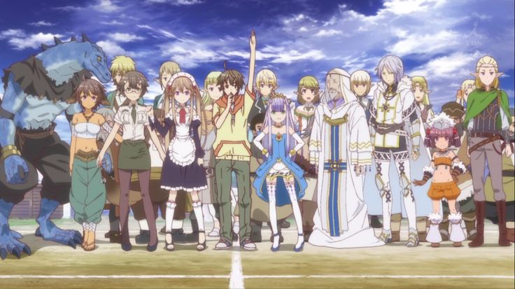 Outbreak Company | JustDubs Online: Dubbed Anime - Watch Anime English Dubbed