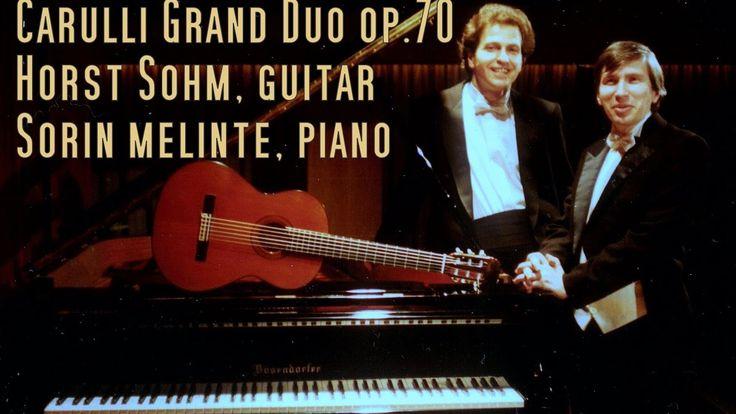 Grand Duo op 70 for guitar and piano by Ferdinando Carulli