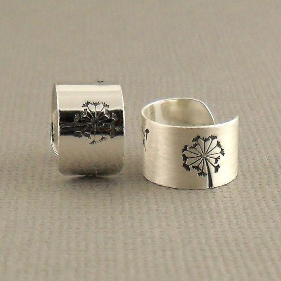Open Rain Drop Ring Teardrop Ring Sterling by PuranaJewellery