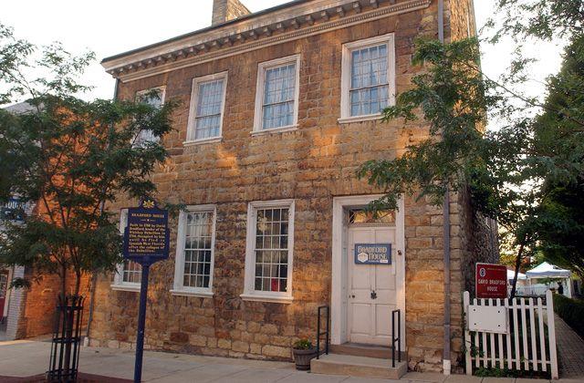 David Bradford House Washington Western Pennsylvania