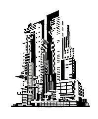 Yakov+Chernikov | Dark Roasted Blend: Communist Gothic: Architecture by Yakov Chernikhov