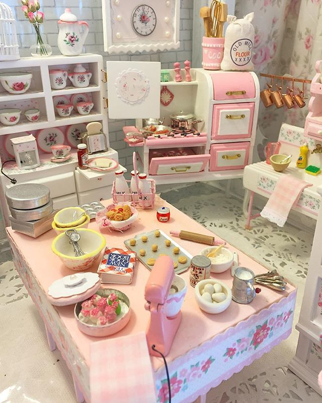 Spending time in my Miniature Bakery #miniatures #minibakery…                                                                                                                                                                                 More