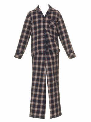 NR.135-122010-DL Kinderpyjama - Paspel - Gummizug