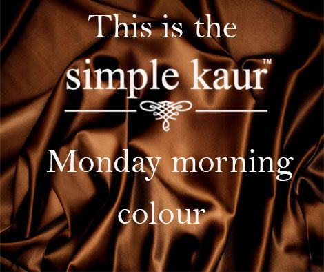 No blues for me this Monday. I suggest #chocolate.  What say ladies?