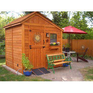 Outdoor Living Today Cabana 12 ft. W x 8 ft. D Wood ... on Outdoor Living Today Cabana id=96407