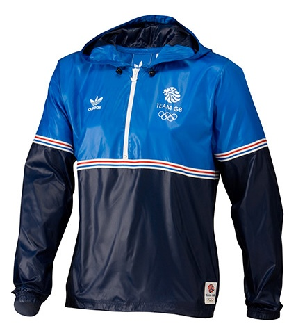 Adidas Originals 2012 blue podium jacket
