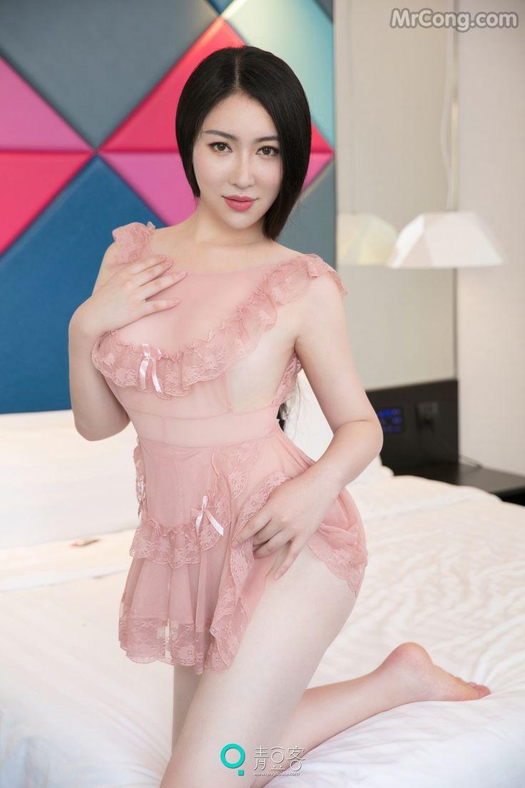 QingDouKe 2017-06-12: Người mẫu Xin Lu (馨露) (53 ảnh)