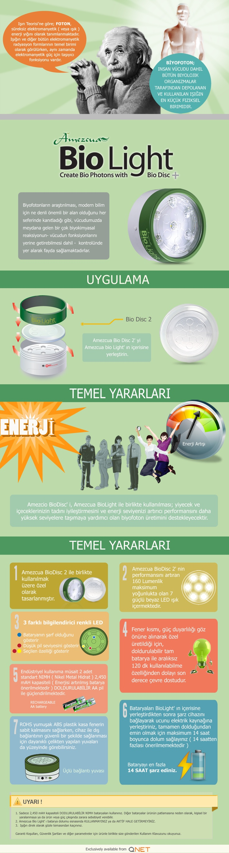 Amezcua Bio Light: Shine Your Way to Good Health! (Turkish)
