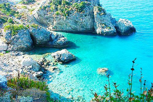 Turquoise Sea, Samos, Greece
