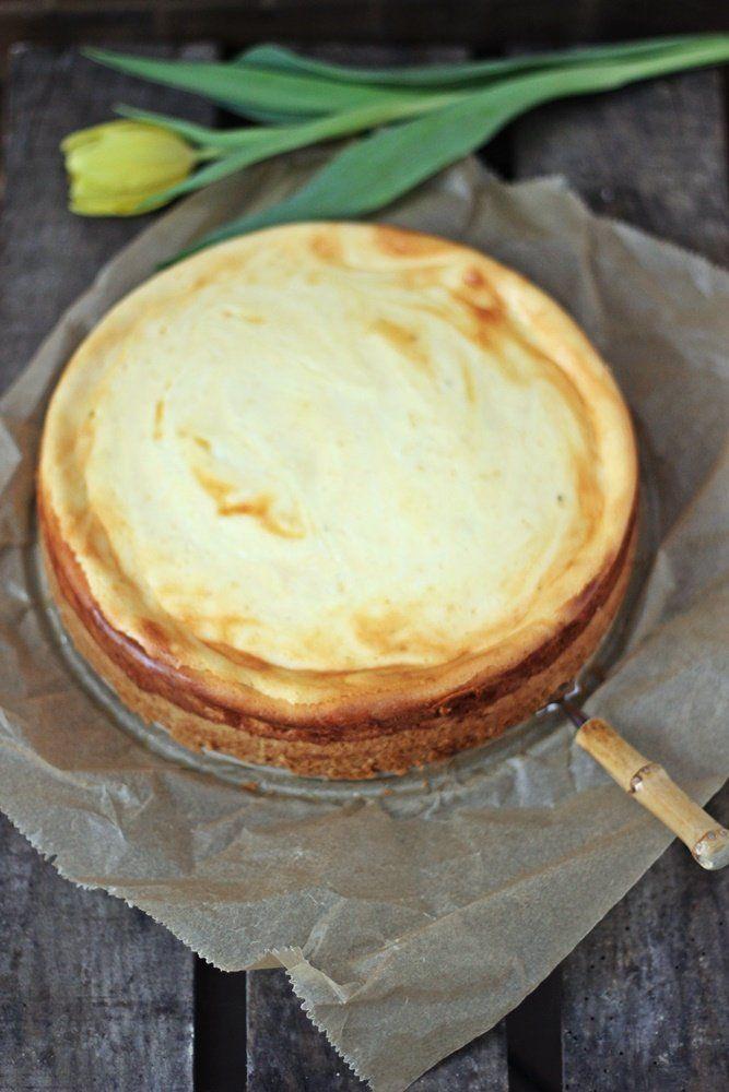 Weltbester gebackener Käsekuchen, Cheesecake, Käsekuchen, cremig,