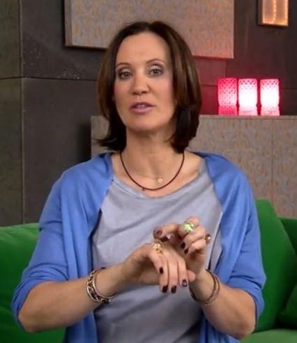 Pani Gadżet Anna Ibisz nosi nasz pierścionek My Wish