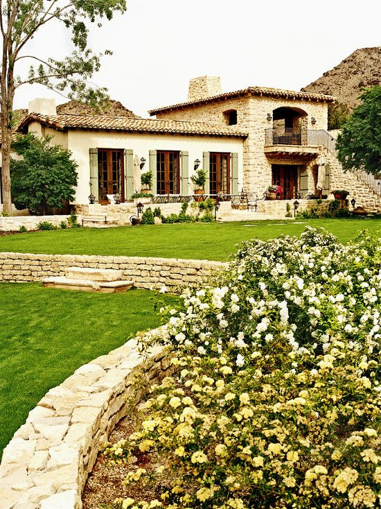 Italian villa-style home