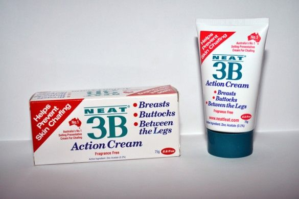 Neat 3B Action Anti Chafing Cream