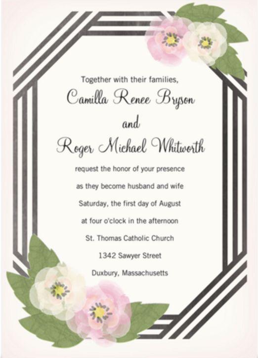 Hallmark Wedding Invitations purplemoonco