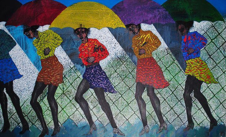 Estaciones 150 cm x 95 cm Óleo-Lienzo 2012 3.500€  #arte #art #artecubano #cubanart #galerías #galleries #pintura #painting #EdelBordon