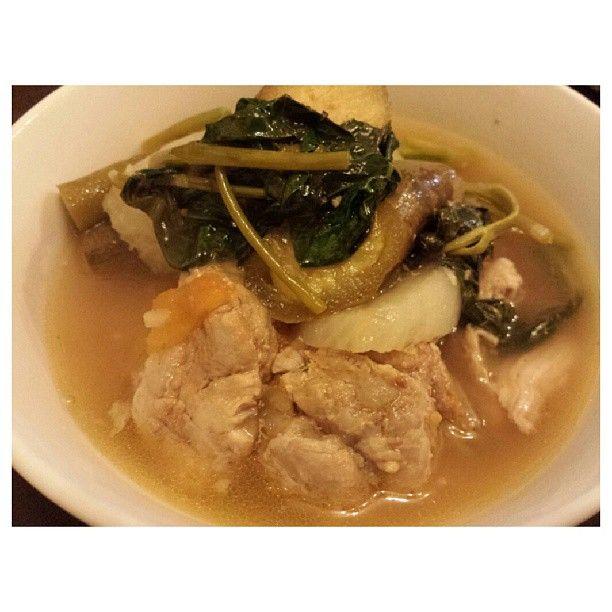 #pork #sinigang for #dinner #yummy #food #philippines #ポーク #シニガン #晩ごはん #フィリピン