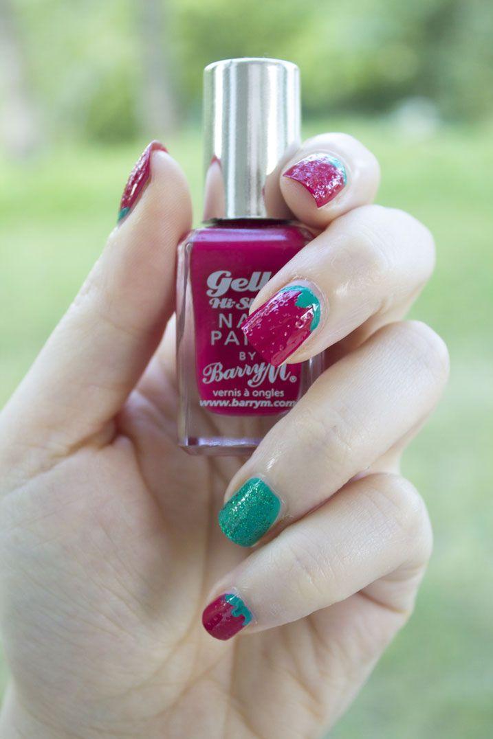 Nail Art Fragola: manicure alla frutta! - Ravedoll #solocosebelle #funnynailart #strawberry #nailart #solosuravedoll #ravedoll #fragolanailart
