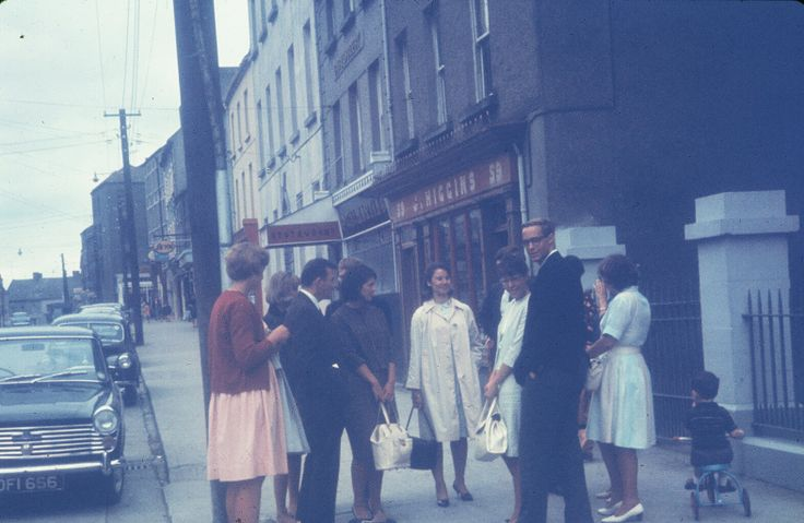 1964 - the first EIL group that visited Ireland. #50EILIRL