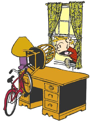 Tumblr do dia: Calvin e Haroldo em GIFs