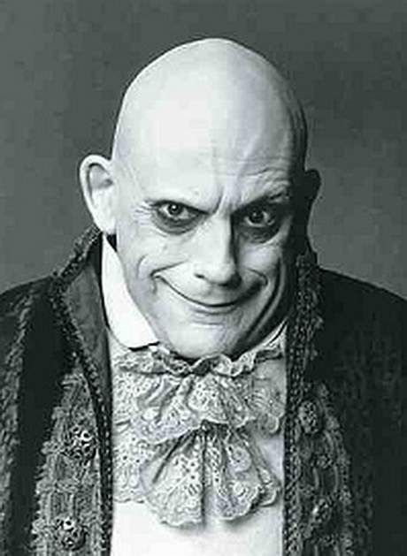 Uncle Fester. The Adams Family.