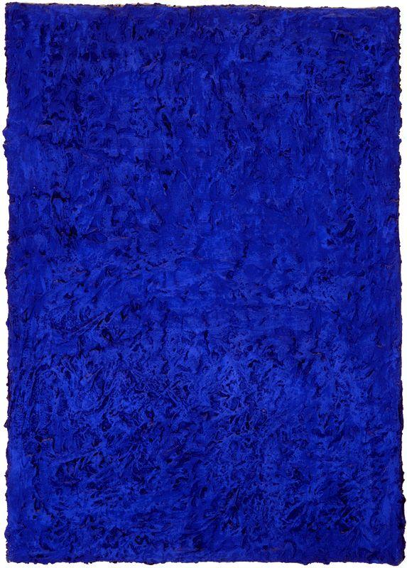 Le bleu et la théorie de l'imprégnation : vers l'immatériel Le Monochrome bleu : la révélation de l'immatériel Klein et l'expérience du vide : « Un homme dans l'espace » L'éponge comme métaphore de l'art