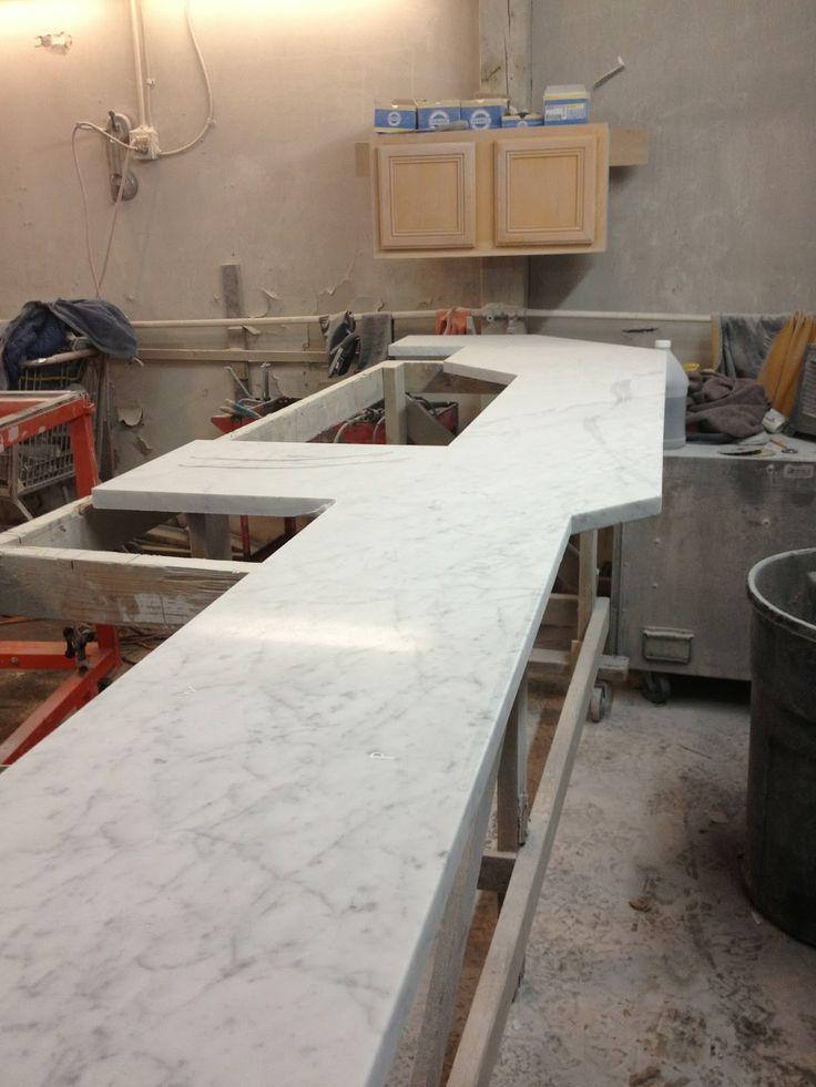 Countertops Carrara Quartz Kitchen 586 294 Marble