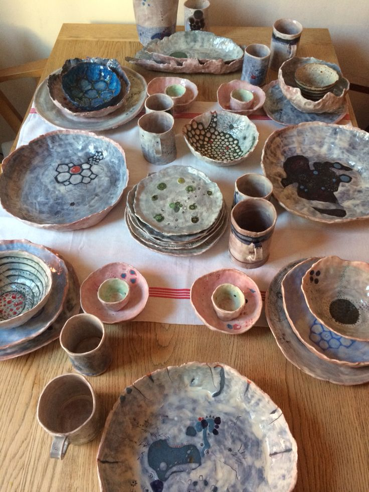 1 year of pottery