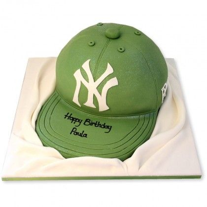 Switch out that logo for a Braves logo, and this cake would be great : )