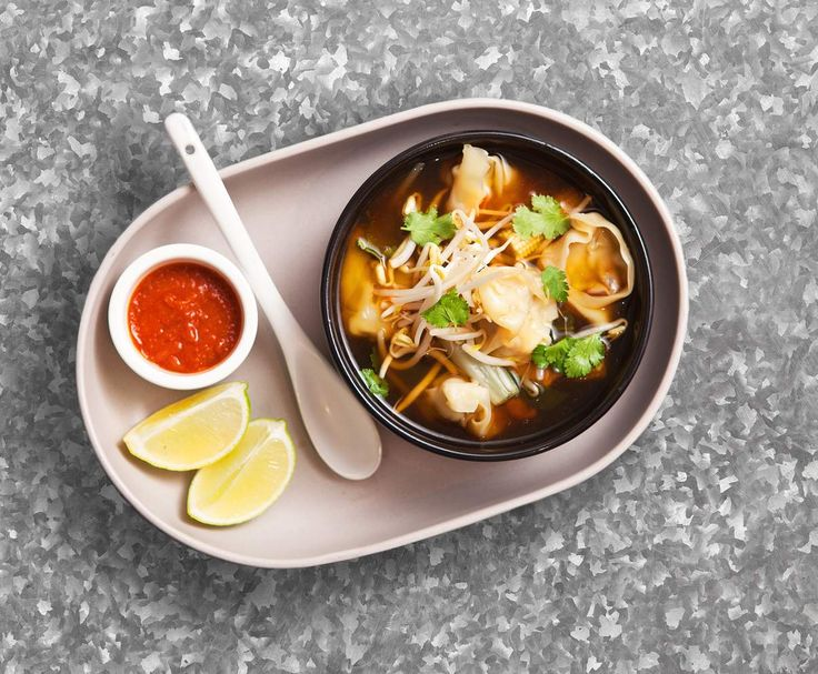Recipe Chicken Wonton Soup by Justine Schofield - Recipe of category Soups