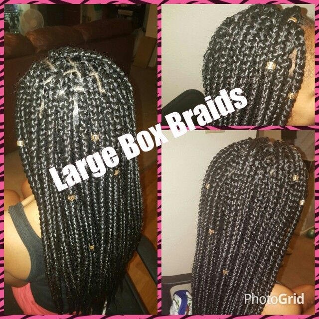 Make Your Own Crochet Box Braids : Box Braids