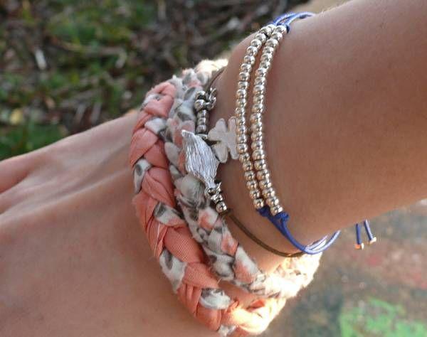 Inspiration : des bracelets tressés