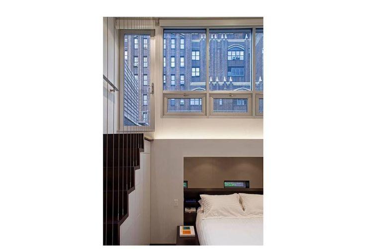 Манхэттен микро-Лофт: современный спальни Шпехта архитекторов